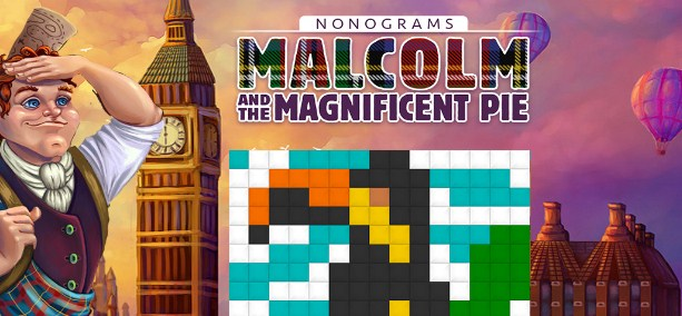 Latest Photo of  Nonograms: Malcolm and the Magnificent Pie