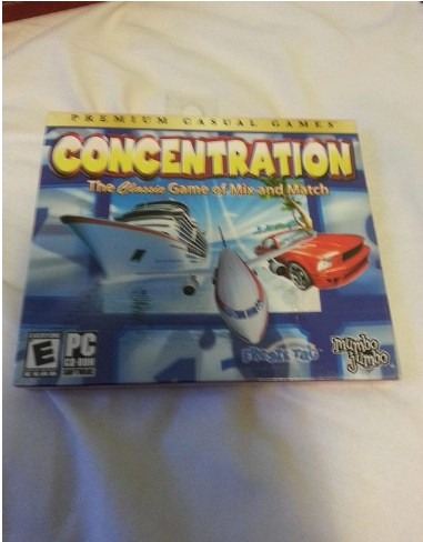 Latest Photo of  Concentration - The Classic Game of Mix and Match (PC Game - 2007)